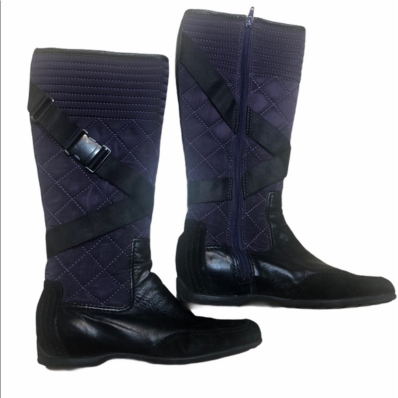 Nine West all weather mid calf boot